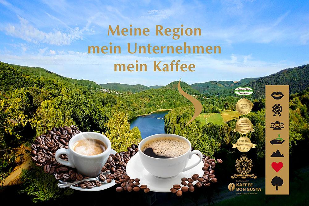 Regionale Kaffeesorten bei Kaffeekontor Bongusta