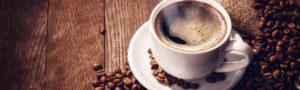 Kaffeetasse Banner schmal